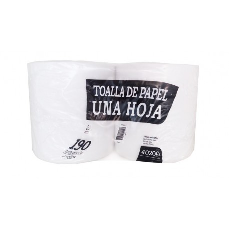 Toalla Absorbente HS Pack 2 X 190m